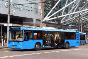 TMG подвел итоги первых месяцев размещения рекламы на «синих» автобусах в Москве