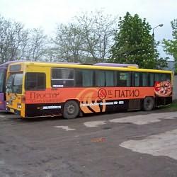 Реклама на транспорте в регионах: Ростов н/Д и Северный Кавказ