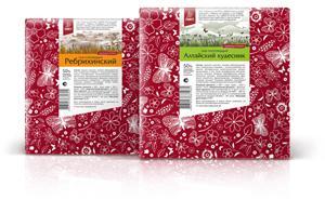 Дизайнер Светлана Куренская разработала упаковку сыров для компании «Лакт»