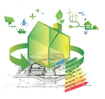 Реконструкция загородного дома до уровня Энергоэффективного.