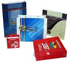 Бумажные подарочные пакеты, упаковка для календарей, упаковка для журналов и фирменных буклетов
