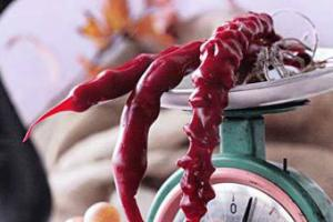 В Сочи установят антирекламу чурчхелы с олимпийскими кольцами