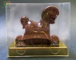 Шоколадная лошадь, символ 2014 - подарок для коллег и клиентов