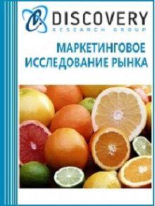 Анализ рынка цитрусовых (апельсины, грейпфруты, помело, лаймы, лимоны и мандарины) в России