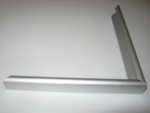 AF02 Алюминиевый профиль Аналог Nielsen 02. Матовое серебро