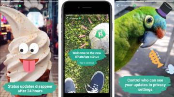 Мессенджер WhatsApp запустил аналог Snapchat Stories вслед за Instagram, Facebook и другими