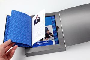 """Студия Axiom Graphics разработала """"Дневник финансиста""""  для ОАО «Промсвязьбанк»"""