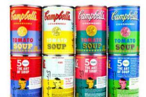 Поп-арт в консервах поступит на полки супермаркетов