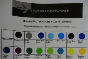 Термопленка на текстиль распродажа Плоттерфилмс