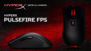 HyperX представила игровую мышь Pulsefire FPS – лауреата Red Dot Award 2017