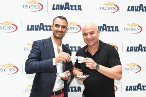 Андре Агасси стал новым амбассадором Lavazza