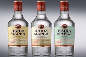 "Новое оформление водки ""Наша Марка"" от ""Allberry"""