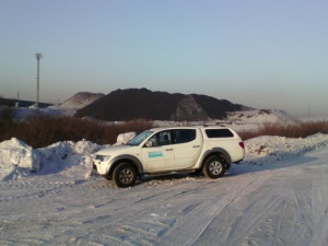 Sandvik Mining совершенствует систему безопасности при использовании корпоративного транспорта