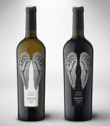 Первую партию вин «Ангелы и Демоны» выпустила винодельня «Кубань-Вино»