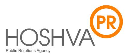 Hoshva PR, Public Relations Agency