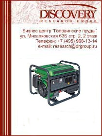 Анализ рынка электрогенераторов России в 2011-2013 гг.