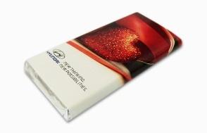 Шоколад 100 гр. с логотипом