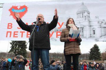 Организатор марша в защиту Петербурга: городу нужен другой губернатор
