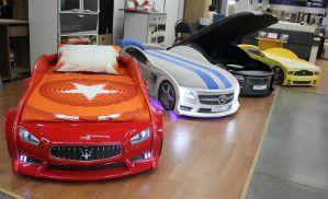«Мебельный Базар» приглашает в гости маленьких автогонщиков