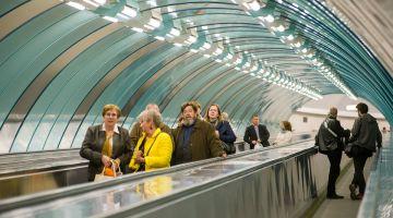 Реклама в метро может напугать пассажиров
