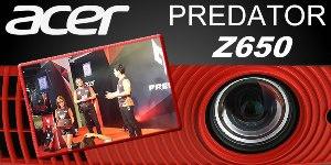 Новый проектор для геймеров Acer Predator Z650 с удвоенной скоростью обновления изображения