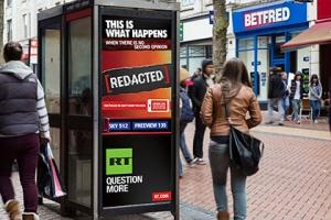 В Лондоне запретили рекламную кампанию Russia Today