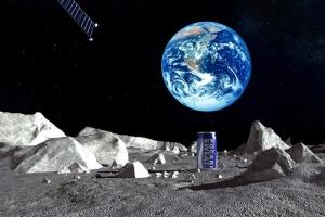 На Луне появится реклама японской газировки