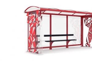 Искусство в дизайне остановочных павильонов