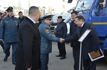 МРСК Центра приняла участие в смотре сил и средств, привлекаемых для ликвидации ЧС в Тамбовской области