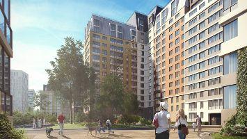 Авторская архитектура представлена порядка 10% ЖК комфорт-класса севера Москвы и области