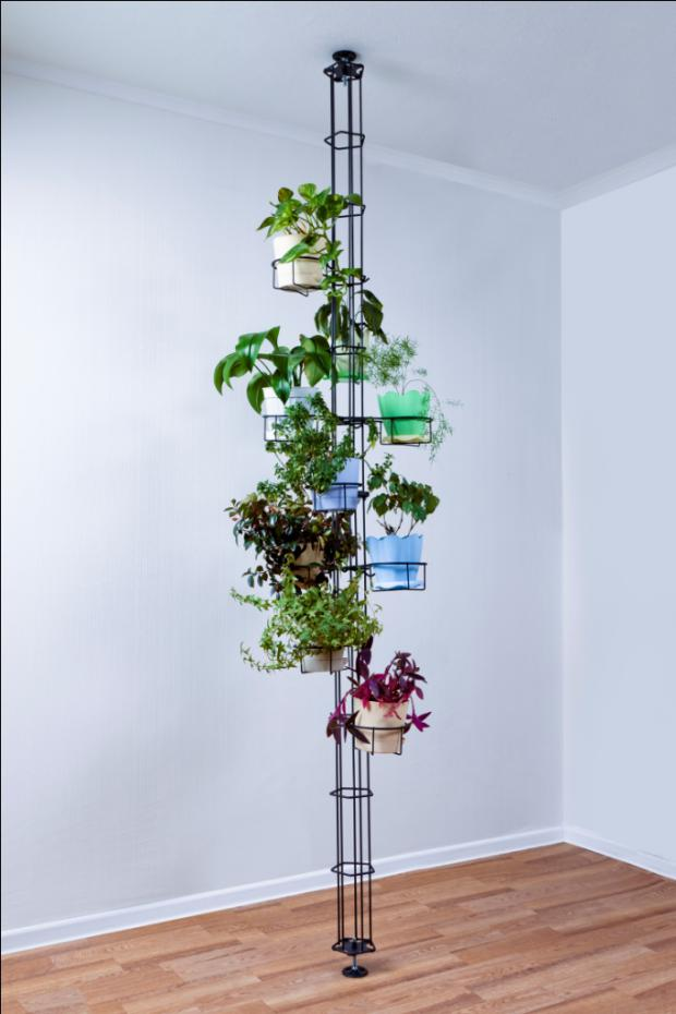 Вертикальные подставки для цветов своими руками