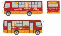 Блины из «Теремка» на автобусах ПТК