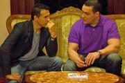 Эндриан Пол и Александр Невский в Korston Hotel Moscow