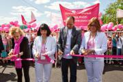 Более 18 000 человек поддержали Благотворительный Марш Avon «Вместе против рака груди» и Фестиваль здоровья и красоты 26 мая 2012 г
