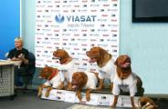 В Украине прошла первая в мире собачья пресс-конференция