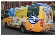 «062-Реклама» и «Иллан» установили в автобусы окна «Позитрон Пласт»