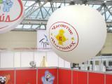 Большие шары на выставочный стенд