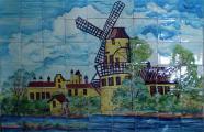 Картина на плитке