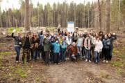 Пресс-тур в национальный парк «Угра»