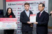 Компания LG Electroniсs в России объявляет победителей конкурса приложений