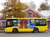 Египетские фараоны катаются на общественном транспорте