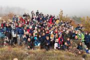 Співробітники «Київстар», рятувальники та журналісти продовжують відновлювати кримські ліси