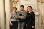 Евгения Данилевская, Олег Рой и Ольга Аминова