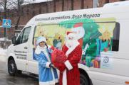 Сказочная машина Деда Мороза В Нижнем Новгороде!