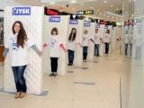 JYSK организовал гигантское матрацное домино
