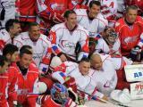 Председатель Совета директоров TMG играет в благотворительном хоккейном матче