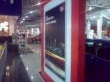 Размещение автомобилей KIA Soul и KIA Cerato в столичных аэропортах и крупных торговых центрах Москвы и Санкт-Петербурга