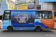Hammerite раскрасил городские автобусы