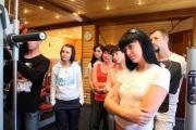 Мастер-класс для тюменских журналистов от Евгения Колтуна