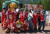 Победители Игр за Кубок Любимого Края - команда Альфа (Д.Д.№31)